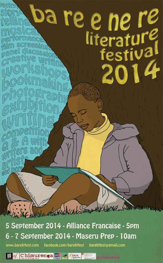 Ba re e ne re Literature Festival poster