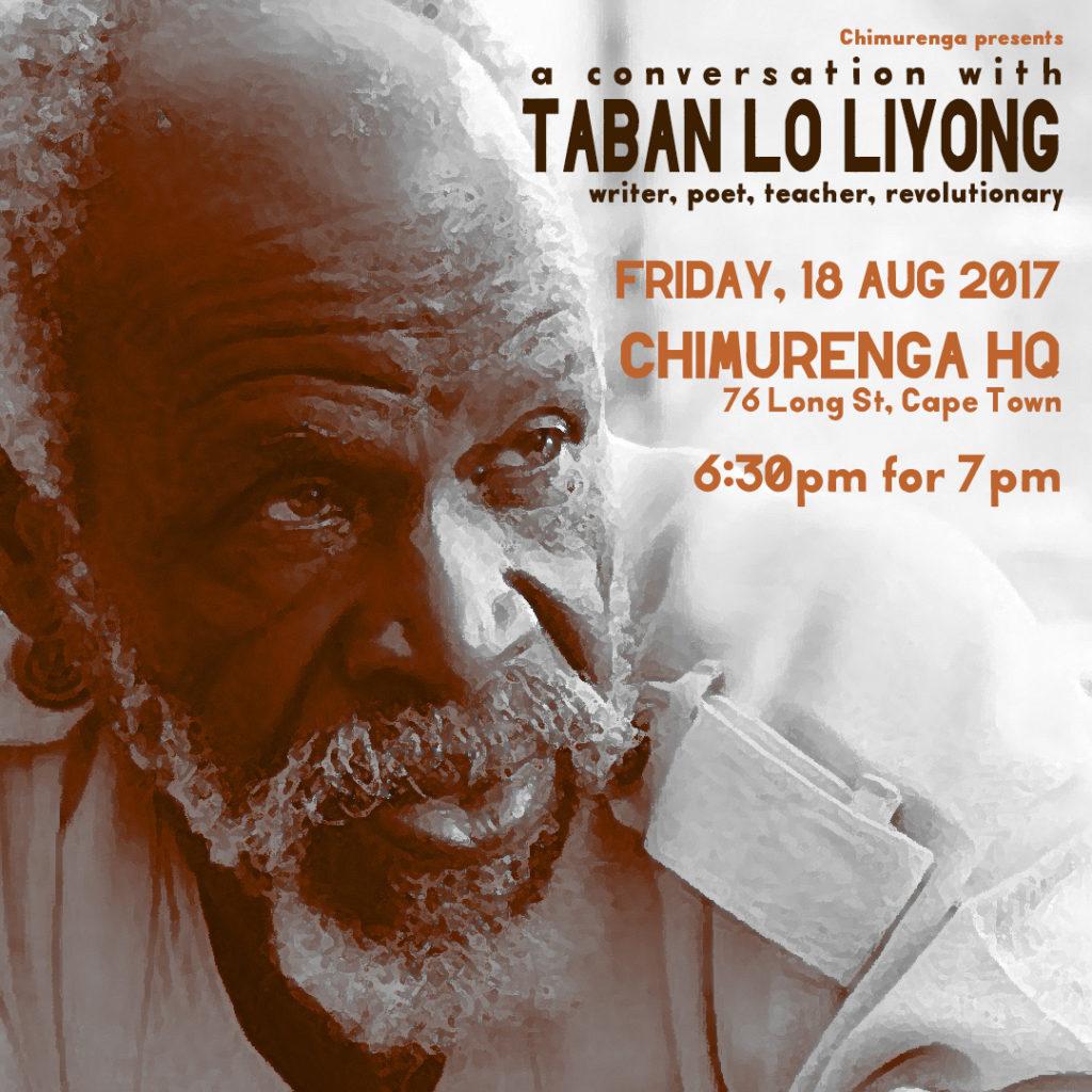 Chimurenga presents: A Conversation with Taban Lo Liyong