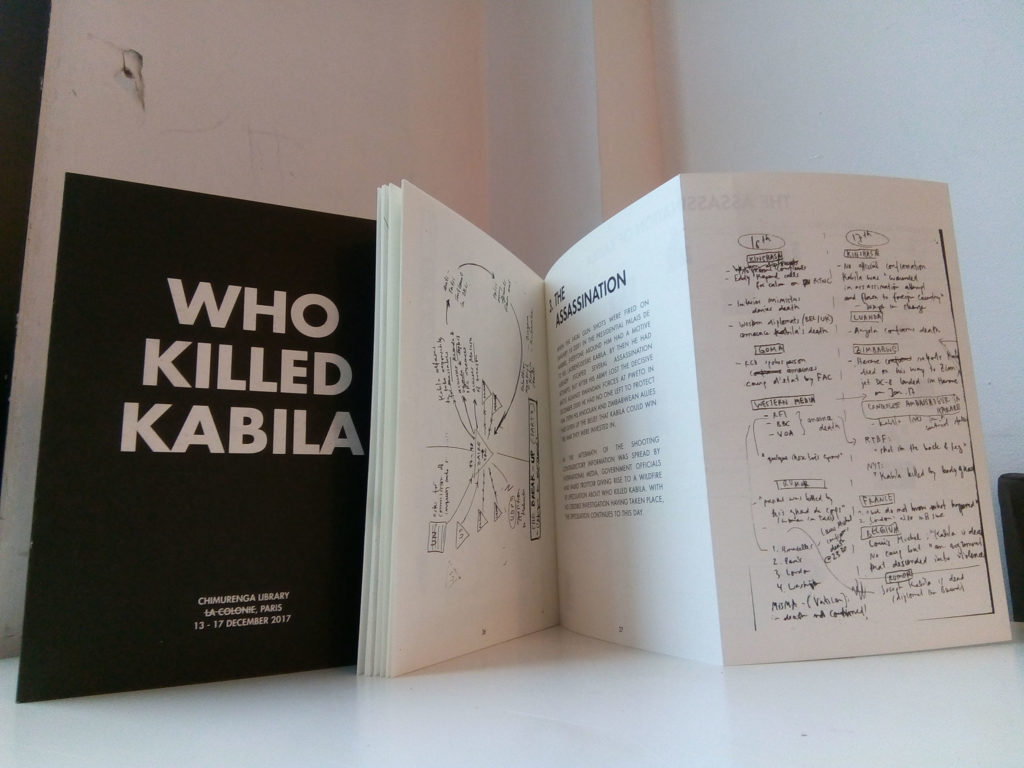 The Chimurenga Library: Who Killed Kabila - catalogue now available